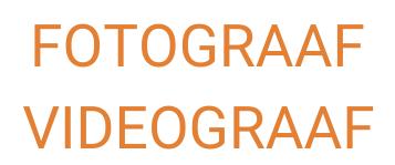 Fotograaf & videograaf CNIP