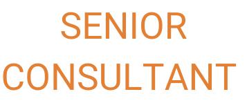 Senior Consultant  CNIP